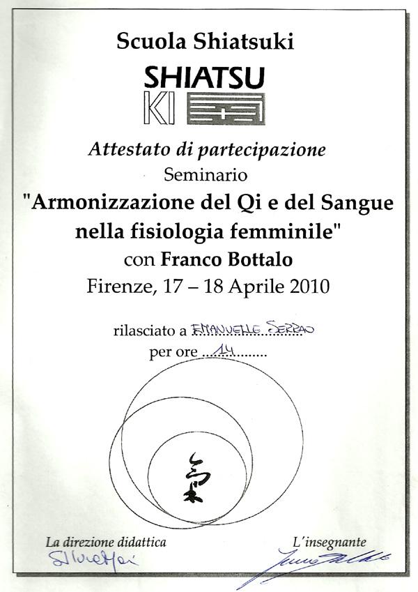 Seminario Franco Bottalo 2010