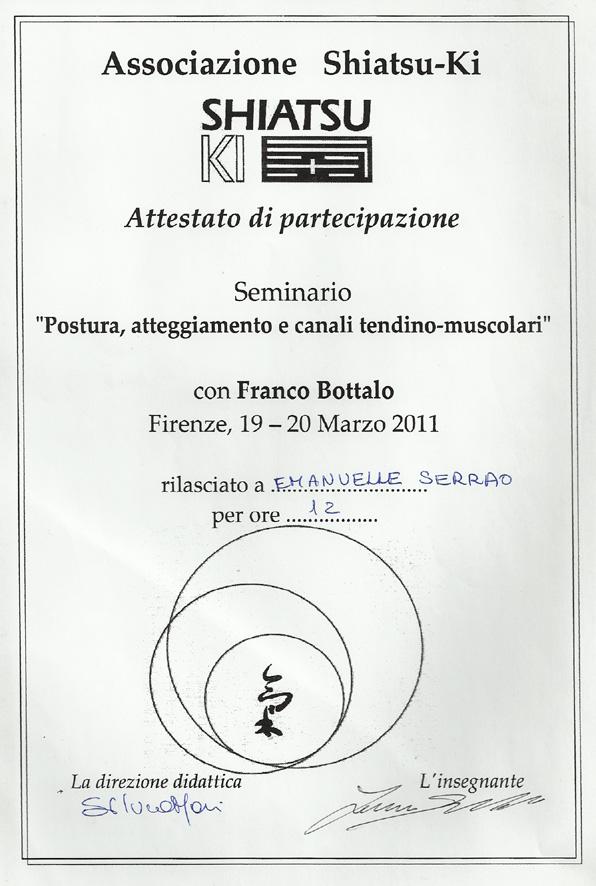 Seminario Franco Bottalo 2011
